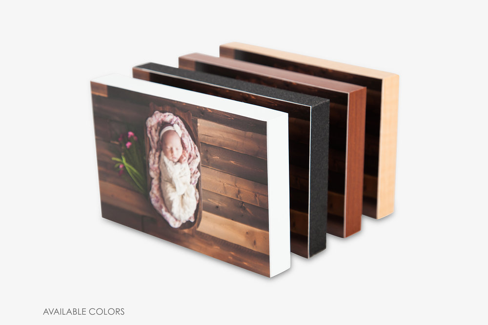 """3/4"""" Standout Mounted Photo Prints"""