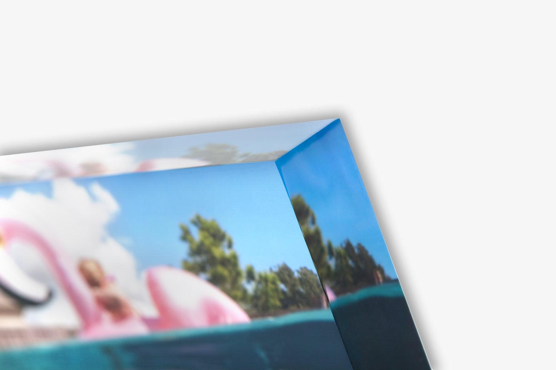 acrylic photo blocks circles unitprints professional photo