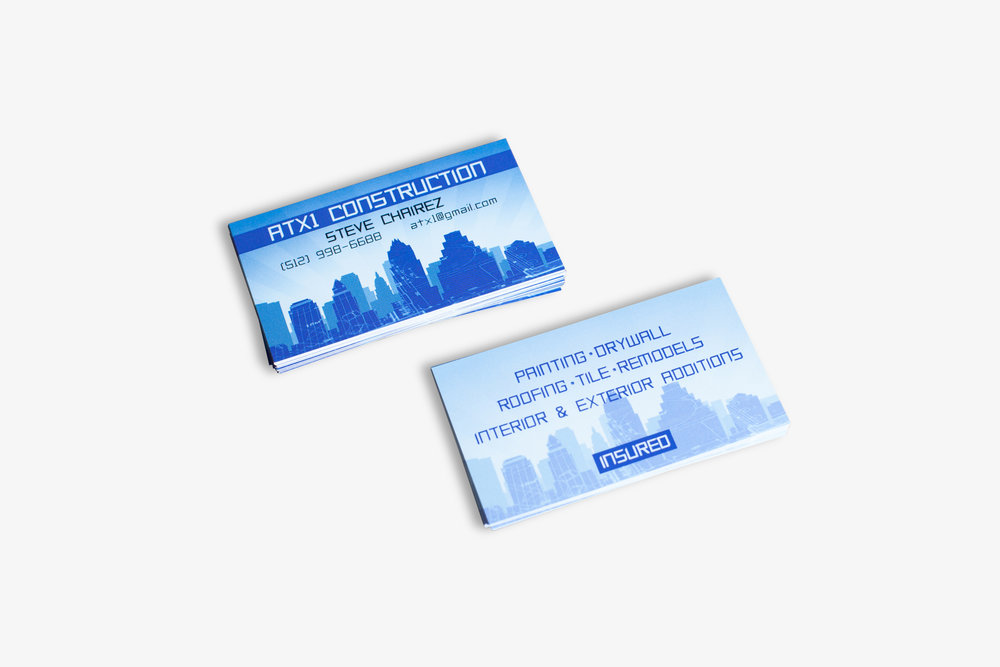 Press Printed Business Cards