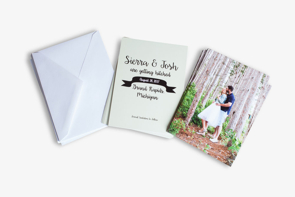 Press Printed Greeting Cards with Envelopes