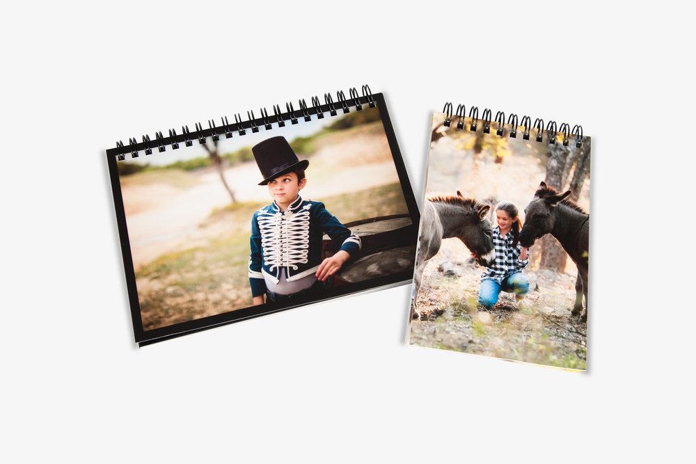 Spiral Bound Photo Books -