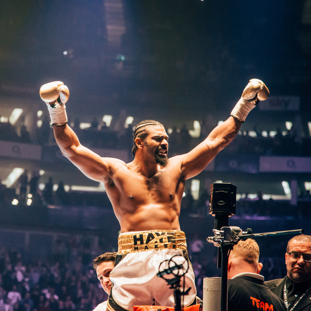 David Haye - Big Fight at The O2