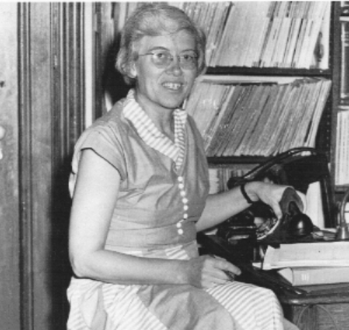 Louise Hawkes      Library Director 1935-1966