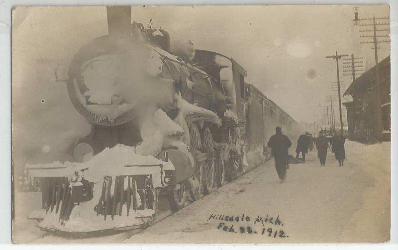 Winter Day Train Ride