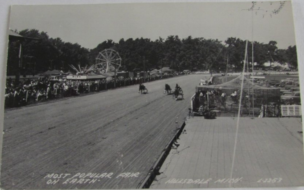 Harness Racing During Fair Week