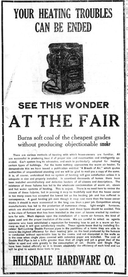 Hillsdale Daily News Sept. 25, 1917
