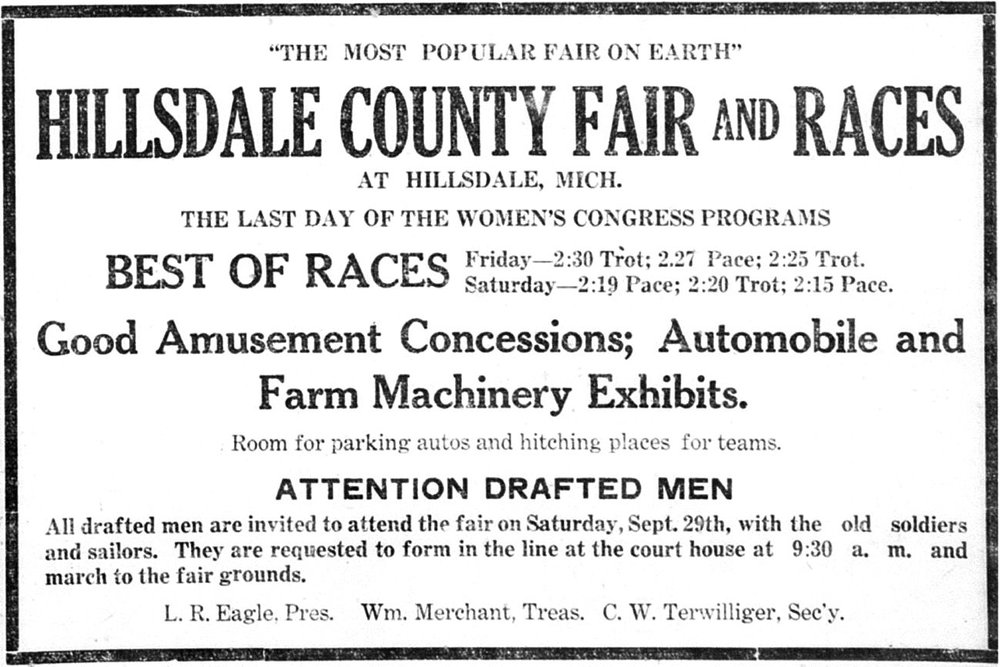 Hillsdale Daily News Sept. 27, 1917