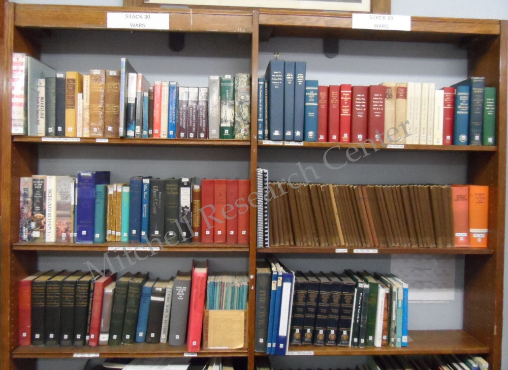 Military Books at Mitchell Research Center
