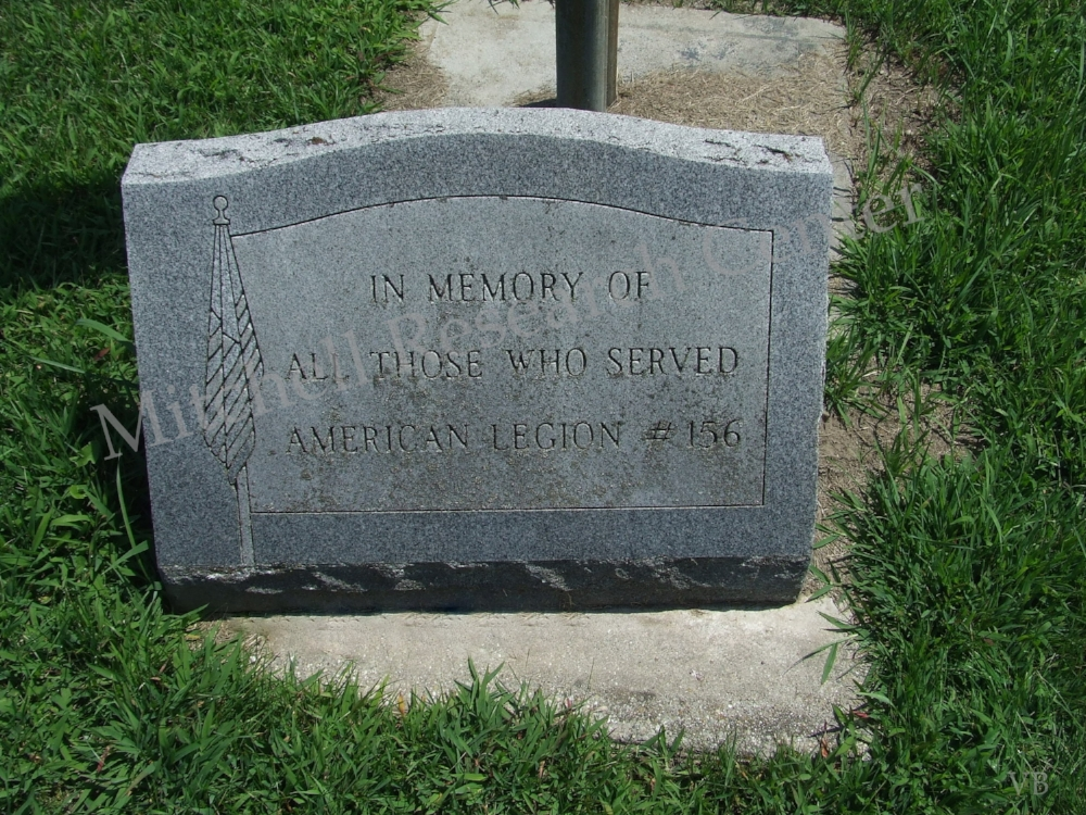 Berg Cemetery Montgomery American Legion #156
