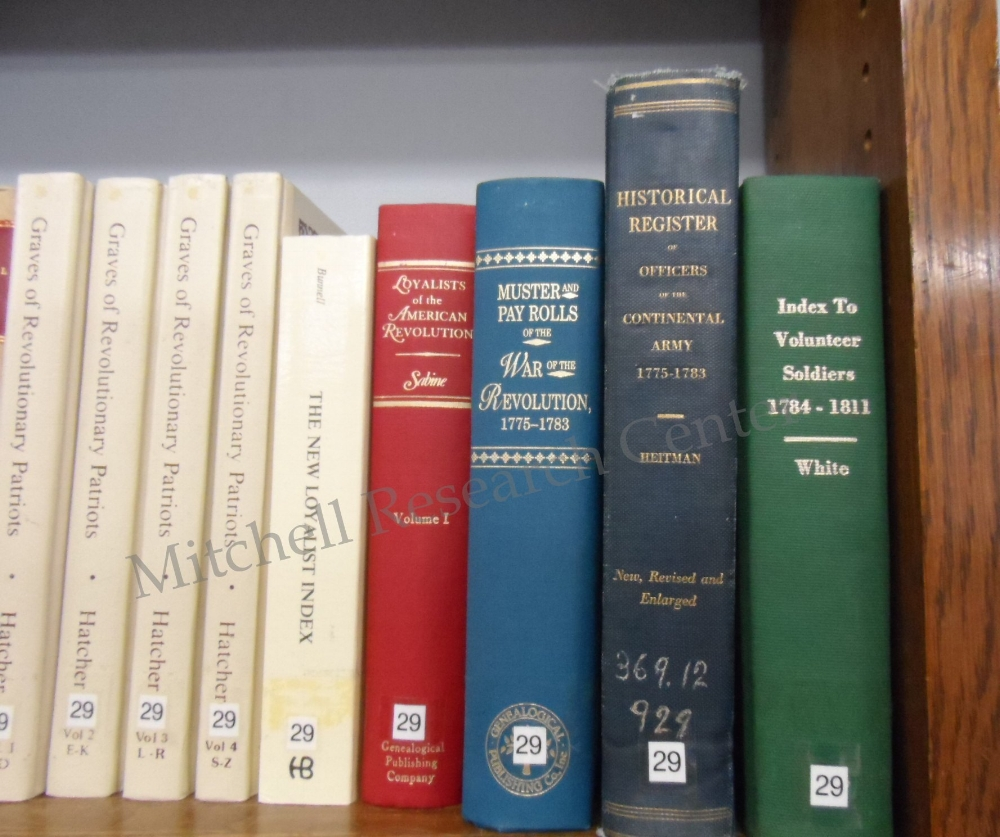 War Books At Mitchell Research Center