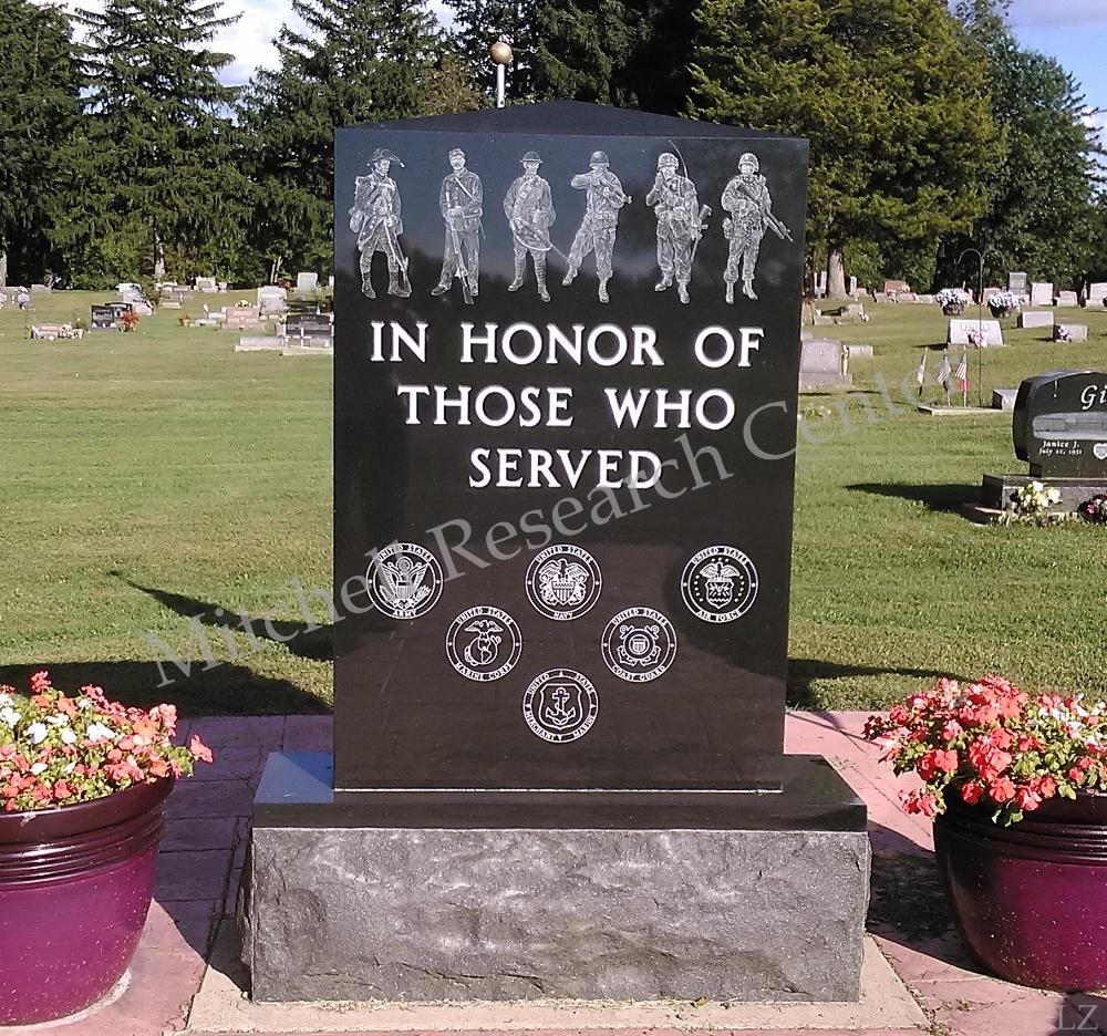 Camden Cemetery War Monument