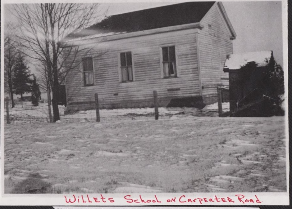 Willits School on Carpenter Rd. (Reading thru the years).jpg