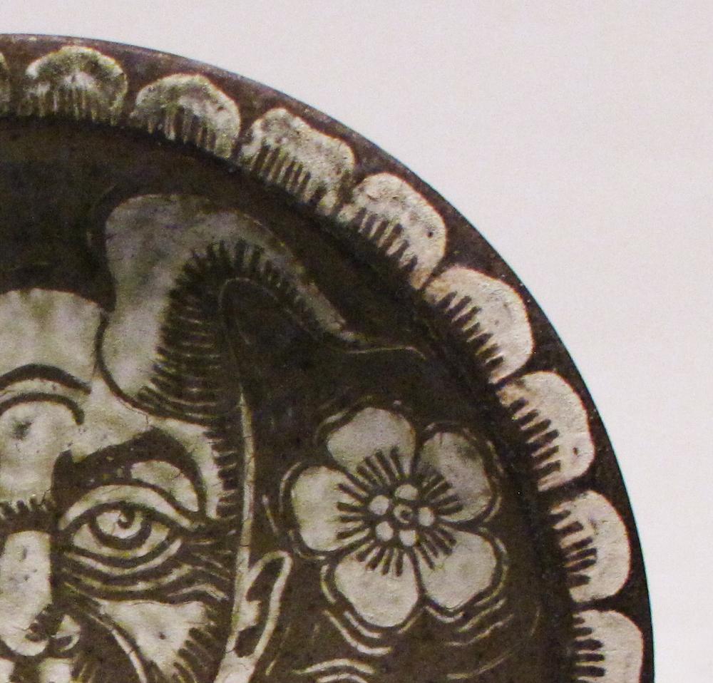 Platter, detail