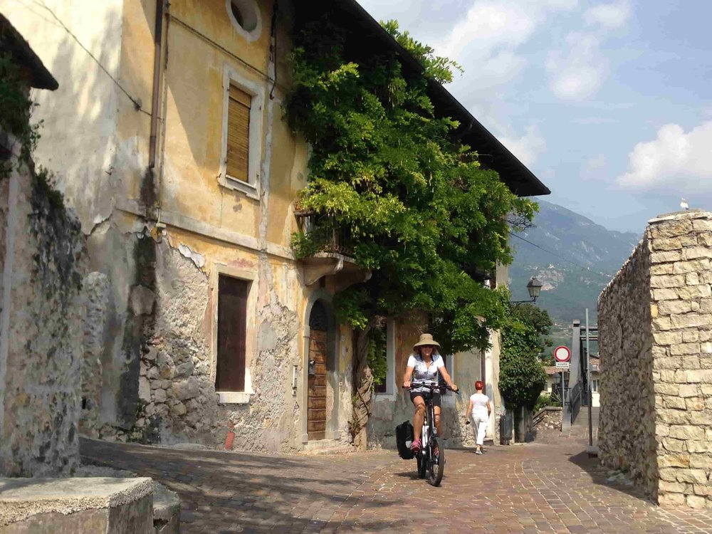 Italy Guided Biking Tour Village.JPG