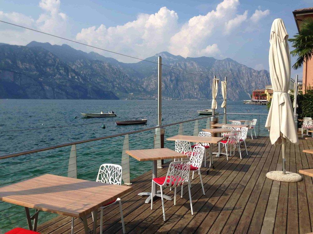 Malcesine Italy Restaurant Hotel.JPG