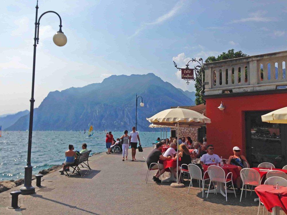Torbole Lake Garda Cafe.JPG