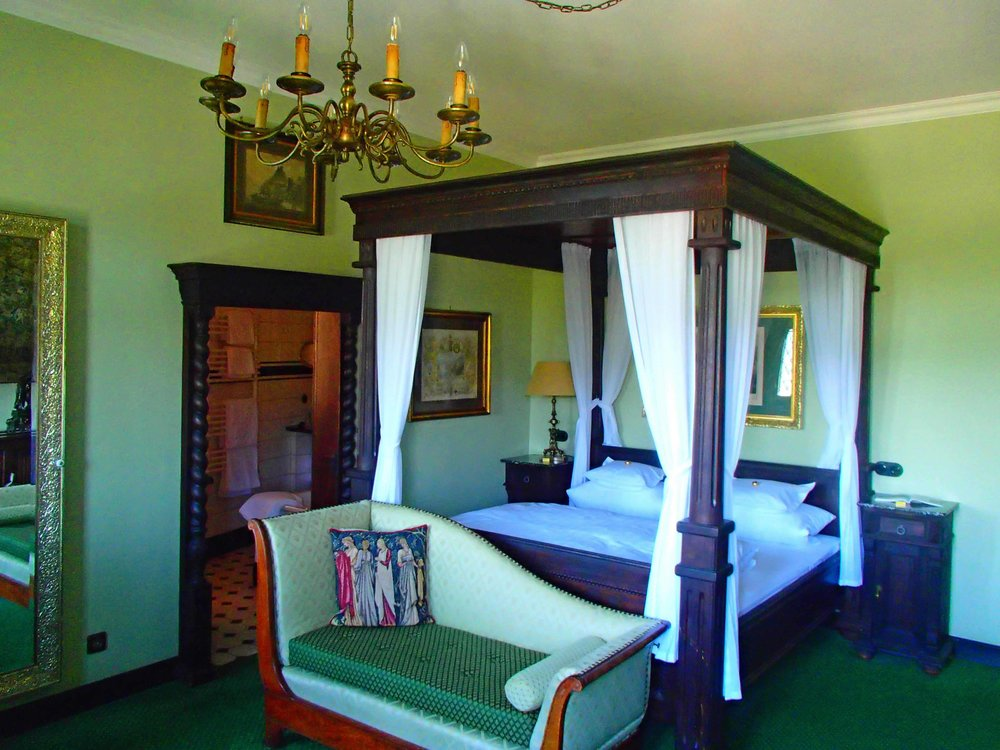 Germany Castle Hotel Bedroom.JPG