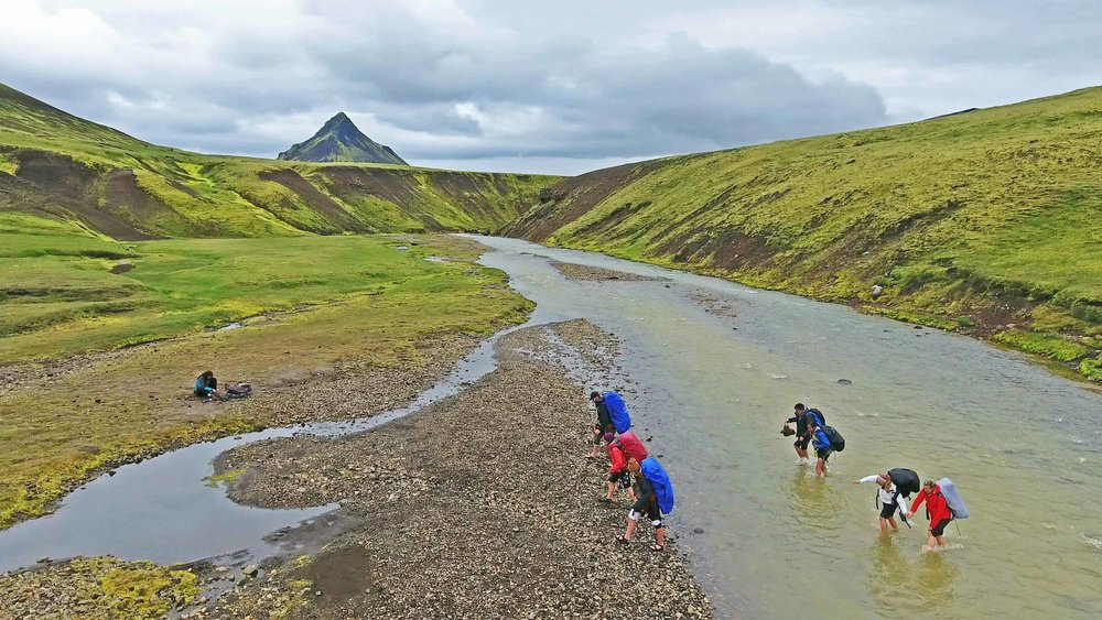 Laugavegur Guided Hike River Crossing.jpg