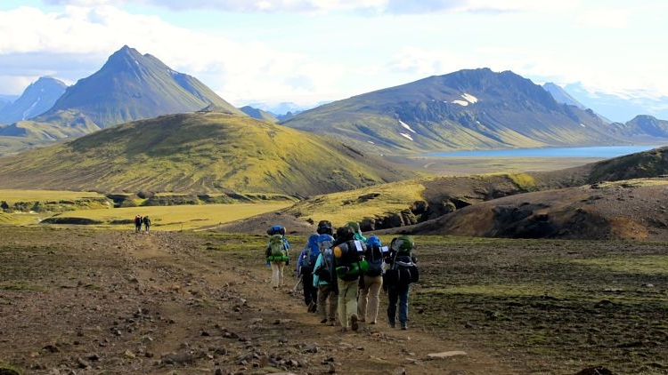 Our Iceland guided hiking tour in the Highlands. National Geographic selected this hike for their Ultimate Adventure Bucket List- see for yourself why this is one of the world's top treks!   Learn More →