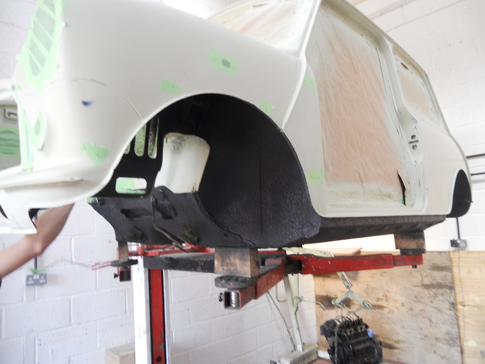 Mini Mayfair Wheel Arch Primed for Respray