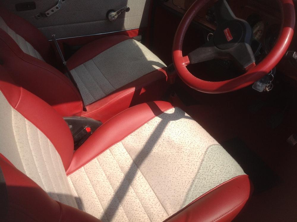 Mini Cooper Monte Carlo Seats