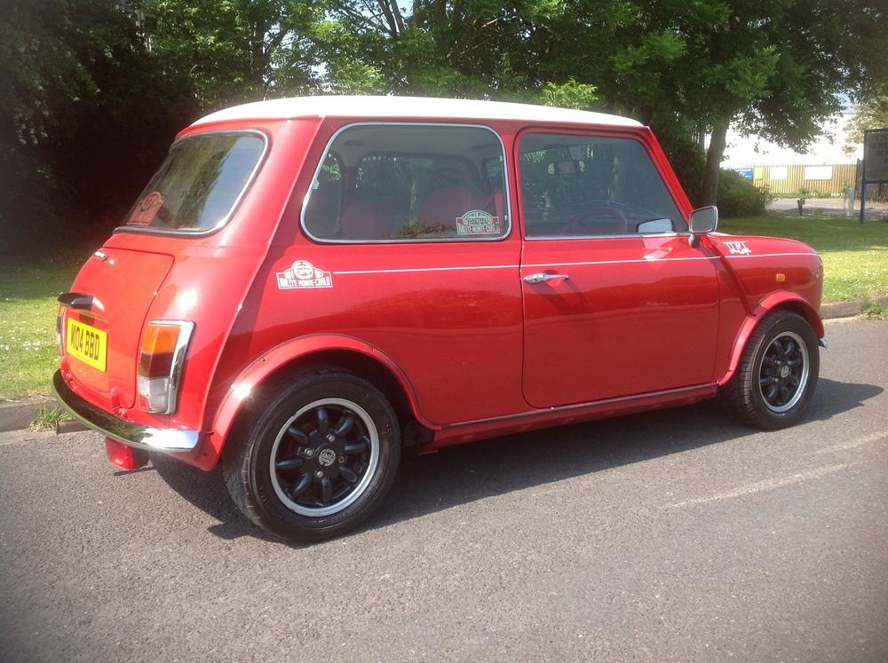 Side View of Mini Cooper Monte Carlo Restored by The Real Mini Company