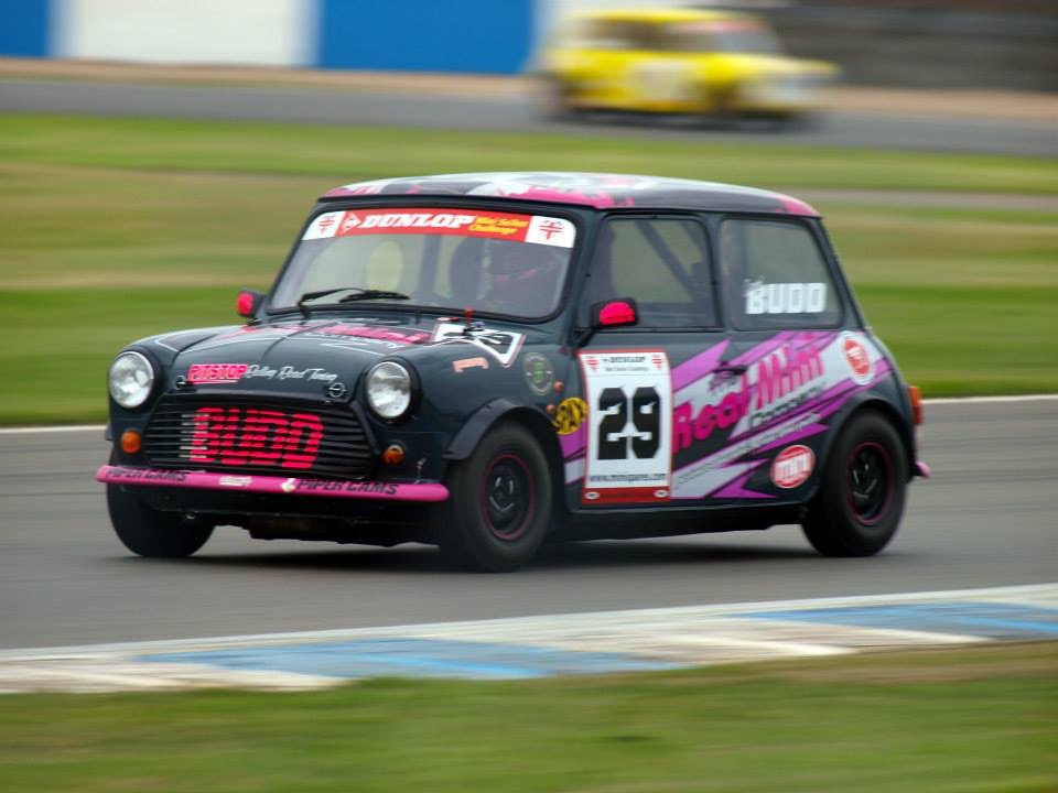 The Real MIni Company Race Car on Track