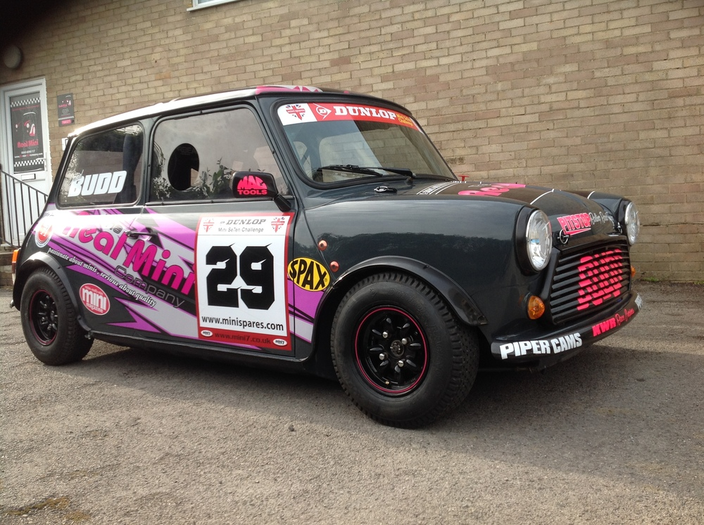 The Real MIni Company Race Car Outside
