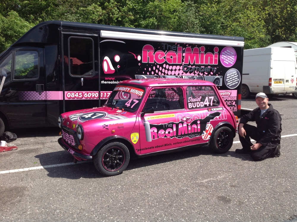 The Real MIni Company Pink Race Car