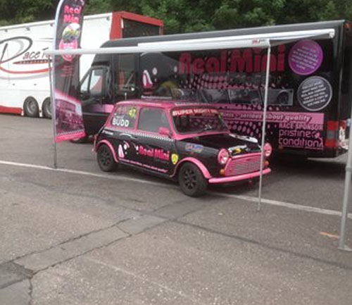 the real mini company race car and lorry