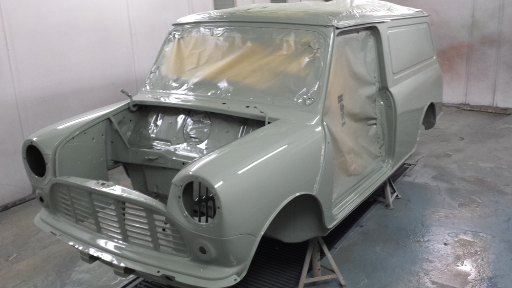 TRMC_Classic_Mini_Van_Engine_Bay