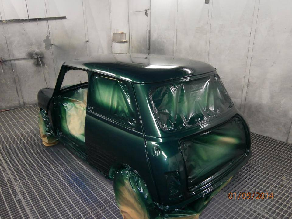 TRMC_Mini_Mayfair_Being_Resprayed
