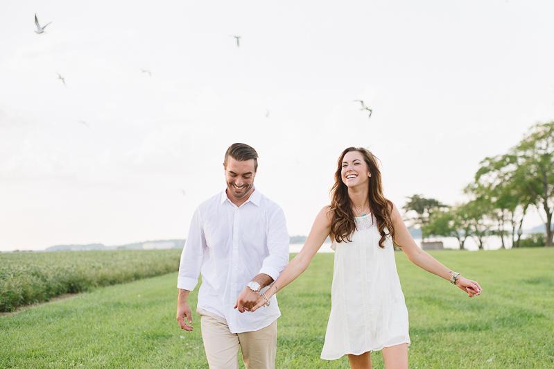 Christina & RJ's Engagement Sesh via NatalieFranke.com