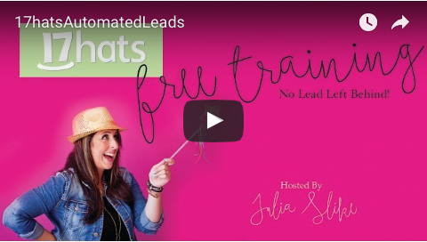 17 Hats Tutorial: Automate Your Leads For Follow-up