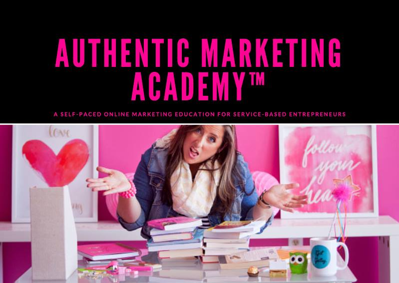 All my courses - Authentic Marketing Academy™ at your fingertips + taught LIVE for the ONLY time in 2018! I'll be teaching 12 modules LIVE as I update the academy contents.Retail Value | $1,800