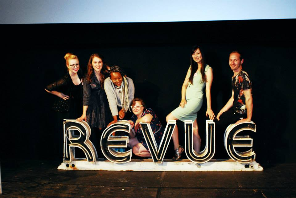 Some of the YTB Co-Founders and Board at the Revue Cinema.