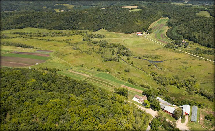 Vermont Valley ariel