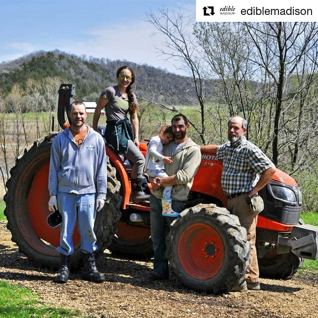 Head over to @ediblemadison to read the cover story that features our farm! Link in their bio 🚜#Repost ・・・ On the surface, Barb and David Perkins of @vermontvalleycommunityfarm may have a pragmatic philosophy about farming, but underneath, there's plenty of heart and gratitude for their community and the #CSA movement they've helped to grow. We hope you'll read more about them on our website:)