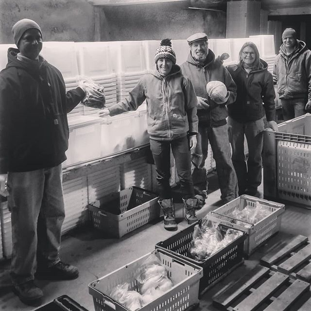 Last share on the packing line. It's been 24 years of CSA share deliveries, 25 years on this farm. Barb and David's vision and commitment to the CSA movement has rippled across the  entire country. Jesse, Jonnah, and Eric dedicated over a decade of their lives to Vermont Valley and allowed this farm to thrive and grow into one of the most successful CSAs in the state. Thank you to all of the employees, worker shares and site hosts who have worked with us to build such a vibrant community. And the biggest THANK YOU to the tens of thousands of people in the Madison area who have believed in us and supported our farm for 24 years. The most important thing for you to do now is to go join another CSA farm. With gratitude, the Perkins family #csa #knowyourfarmer #familyfarm #supportlocal