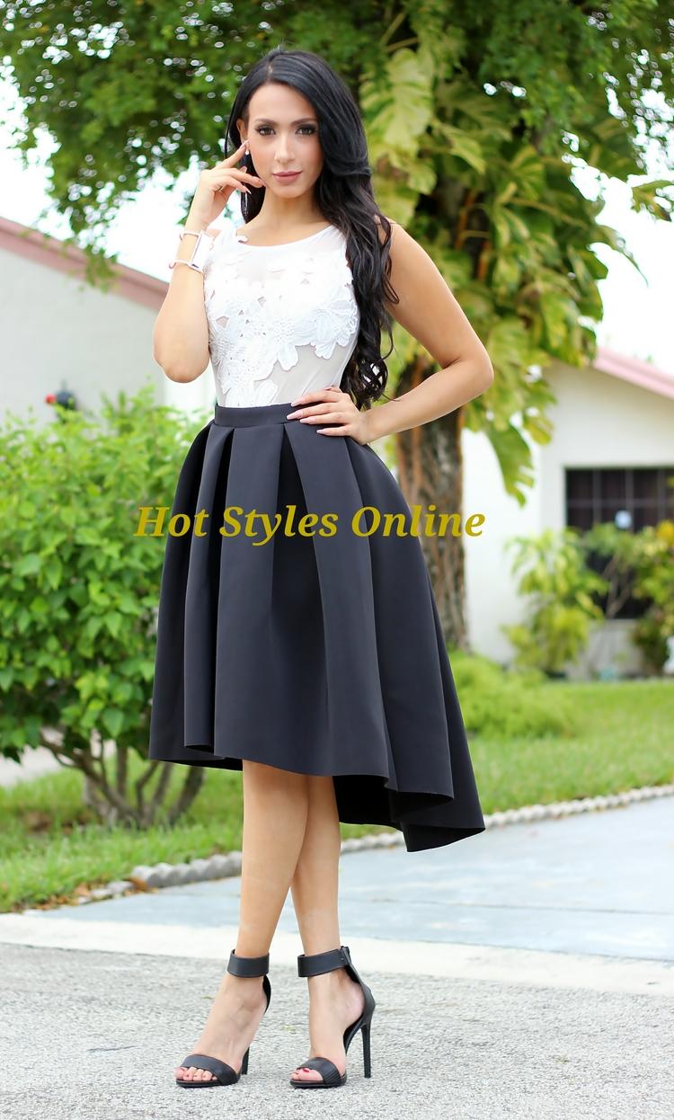 1c20554cb8 Zane White Floral Embroidered Sheer Mesh Bodysuit — Hot Styles Online