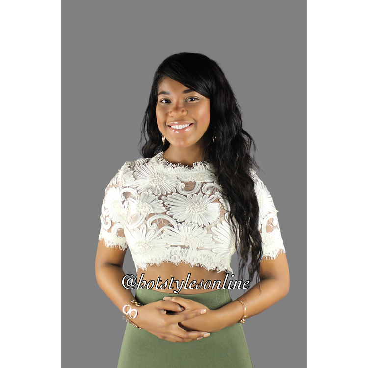 Laura off white embroidered floral crop top hot styles online laura off white embroidered floral crop top mightylinksfo