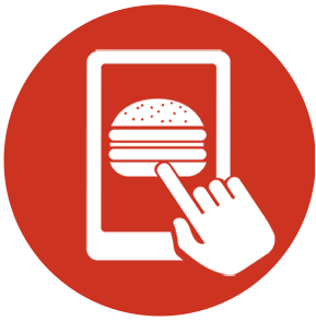 Single click setup and fully integrated into and synced with Clover system. Print to cook line with automated text message to customer when food is ready for pickup.