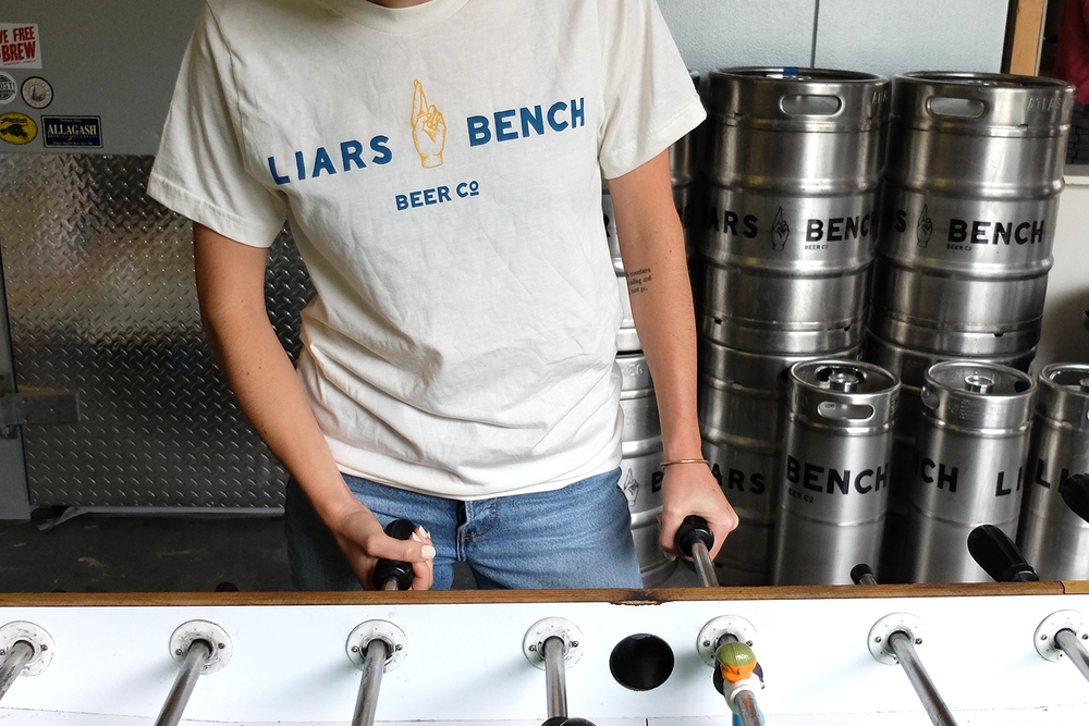 RECENT WORK: Liars Bench Beer Co.