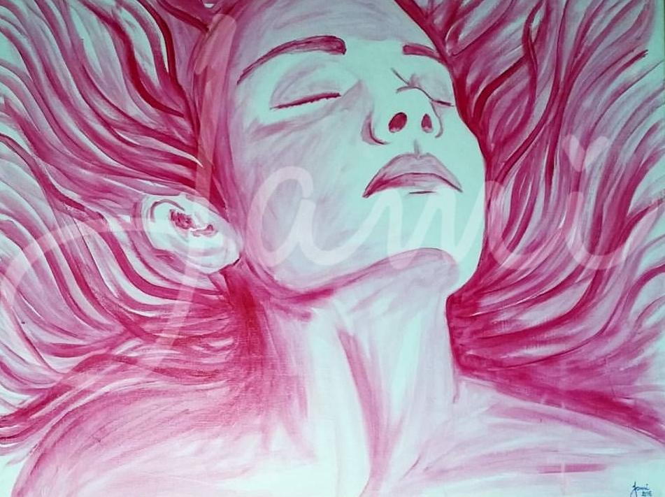 "Freedom 24""x30"" Acrylic 2015"