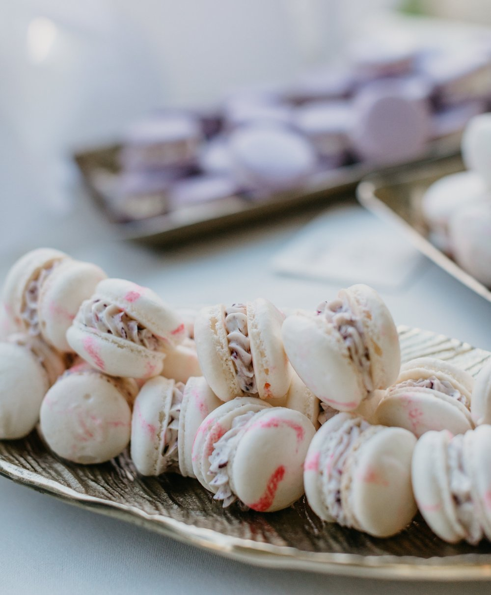 Honey Rose & Lavender honey macarons   Justin Johnson Photograph