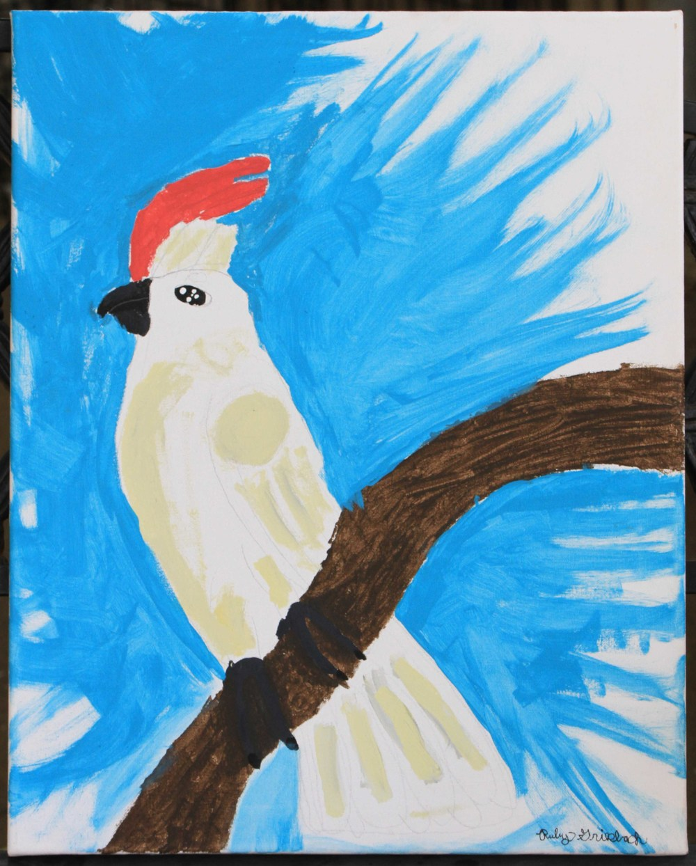 Cockatoo by Junior Docent Ruby Griesbach