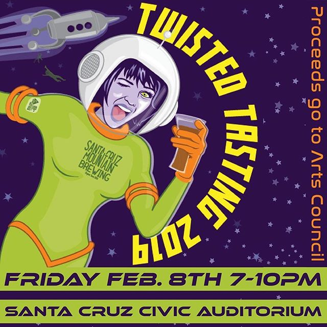 We just got news that we'll be attending this years @scmbrew Twisted Tasting Event! We can't be more excited to share fresh new kombucha flavors with our community. Time to get those funky cosmic outfits out and enjoy the flavors of the Monterey Bay. Ahuu!! . . . #twistedtasting2019 #kombucha #fermentation #healthybeverage #brewfest #probiotics #montereybay #santacruz