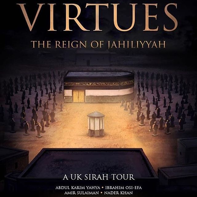 On my way. ''Tis the season.  Virtues UK Sirah Tour. La illahaillaLLAH MuhammadurRasuluLLAH. @virtuestour @naderkhanofficial