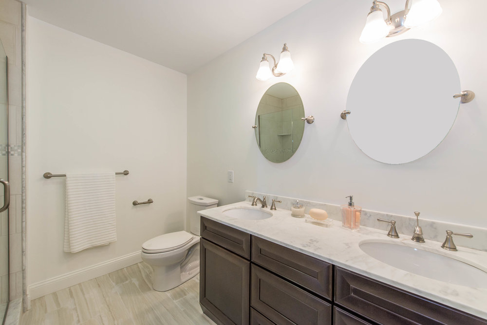 Master Bath with Spa Shower