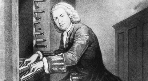 Johann Sebastian Bach on the Organ